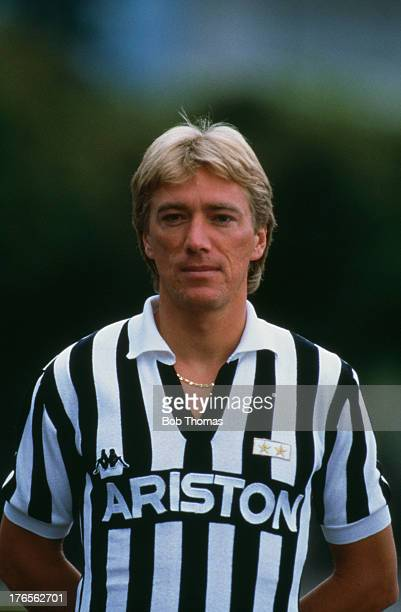 Sammarinese footballer Massimo Bonini of Juventus 1988