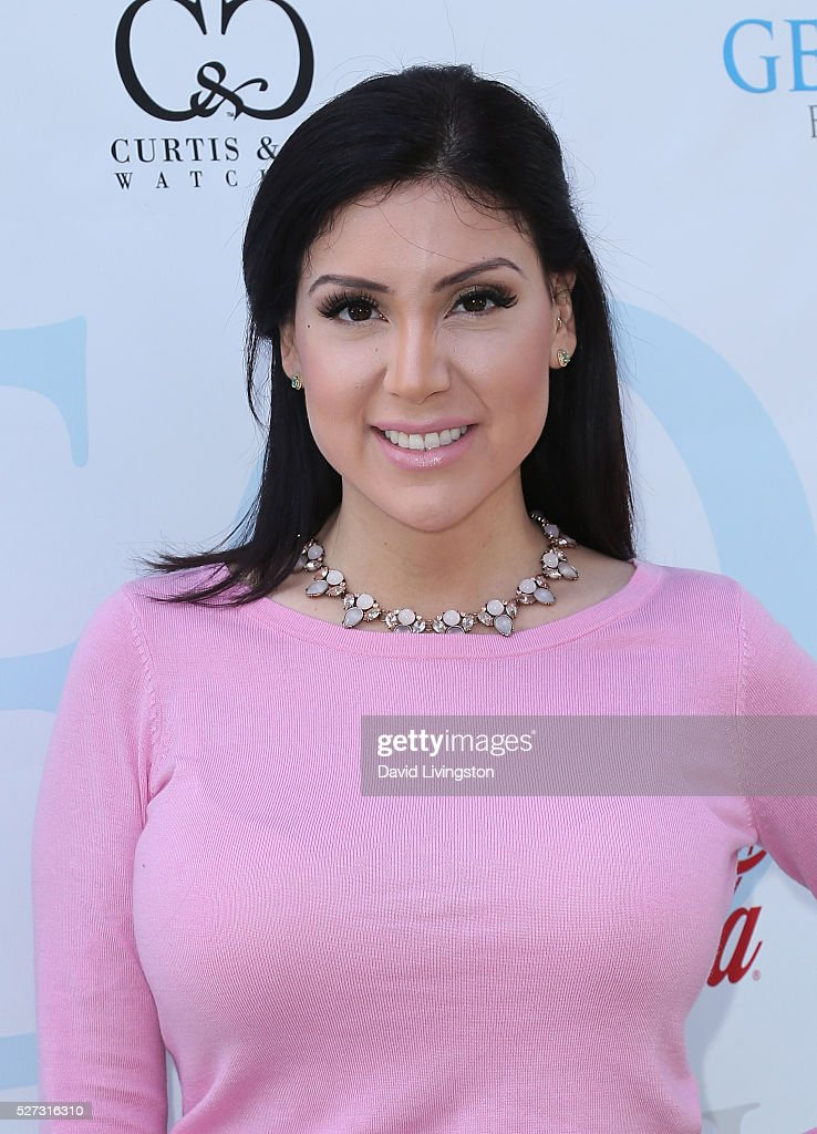 Sammi Benz attends the Ninth Annual George Lopez Celebrity Golf Classic at Lakeside Golf Club on May 2, 2016 in Burbank, California.