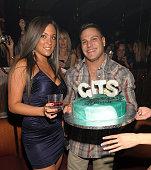 Sammi Giancola and Ronnie Magro celebrate Ronnie birthday at Jet Nightclub on December 11 2010 in Las Vegas Nevada