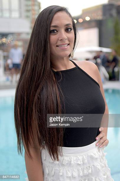 Sammi Giancola attends Orlebar Brown presents the Spring/Summer 2017 Collection in partnership with Bold New York and Lifetime Athletic At Sky on...