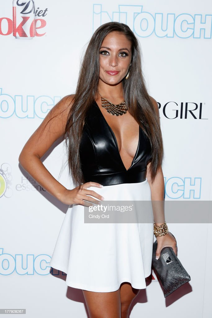 Sammi 'Sweetheart' Giancola arrives at Intouch Weekly's 'ICONS & IDOLS Party' at FINALE Nightclub on August 25, 2013 in New York City.
