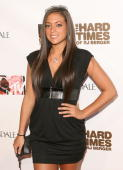 Sammi 'Sweetheart' Giancola arrives at the MTV Series Premiere of 'The Hard Times of RJ Berger' and 'Warren The Ape' at Trousdale on June 7 2010 in...