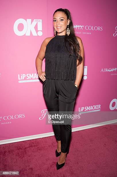 Sammi 'Sweetheart' Giancola attends OK Magazine's Spring 2016 NYFW Party at HAUS Nightclub on September 15 2015 in New York City