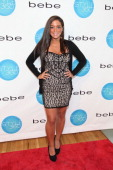 Sammi 'Sweetheart' Giancola attends the Bebe Black Collection Spring 2012 Style360 during MercedesBenz Fashion Week at Style 360 at 125 West 18th...