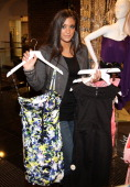 Sammi 'Sweetheart' Giancola seen shopping at the Lipsy London store at Bloomingdale's Soho on March 23 2011 in New York City