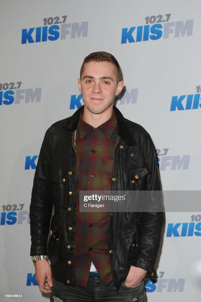 Sammy Adams arrives at the 2012 KIIS FM Jingle Ball at Nokia Theatre LA Live on December 1, 2012 in Los Angeles, California.