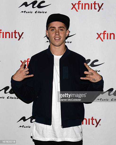 Sammy Adams at the Music Choice Xfinity TV 'Amp Your Campus' Social Media Challenge Event at Boston House of Blues on April 30 2013 in Boston...