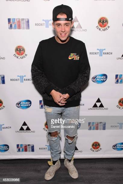 Sammy Adams attends during Lollapalooza Weekend at The Underground on July 31 2014 in Chicago Illinois