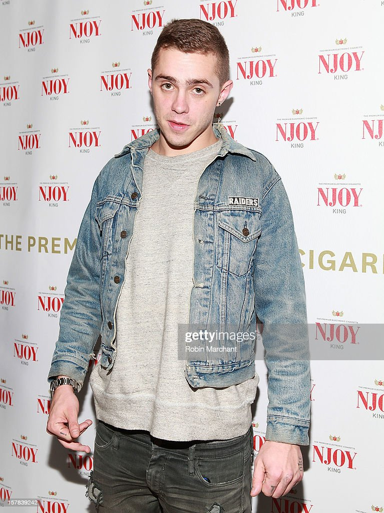 Sammy Adams attends the NJOY King Electric Cigarette launch event at The Jane Hotel on December 6, 2012 in New York City.