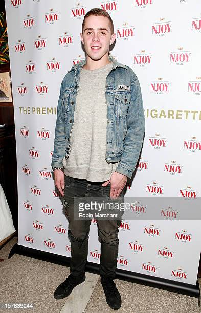 Sammy Adams attends the NJOY King Electric Cigarette launch event at The Jane Hotel on December 6 2012 in New York City