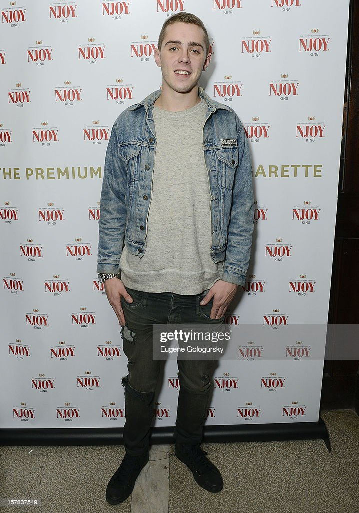 Sammy Adams attends the NJOY King Launch at The Jane Hotel on December 6, 2012 in New York City.