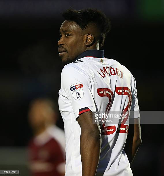 Sammy Ameobi of Bolton Wanderers in action during the Sky Bet League One match between Northampton Town and Bolton Wanderers at Sixfields on November...