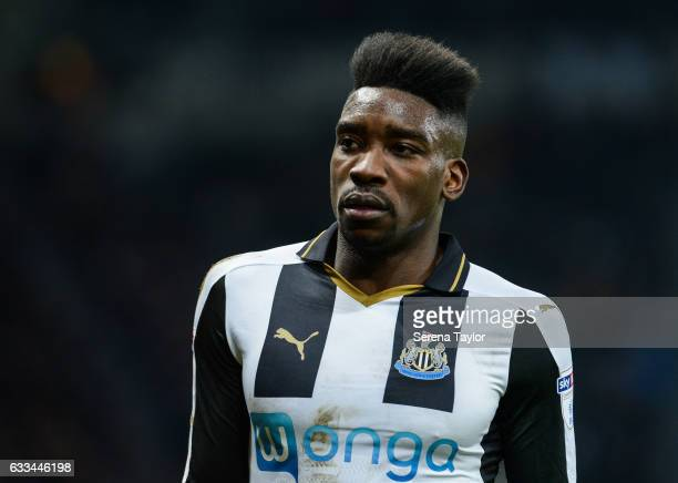 Sammy Ameobi of Newcastle United during the Sky Bet Championship match between Newcastle United and Queens Park Rangers at StJames' Park on February...