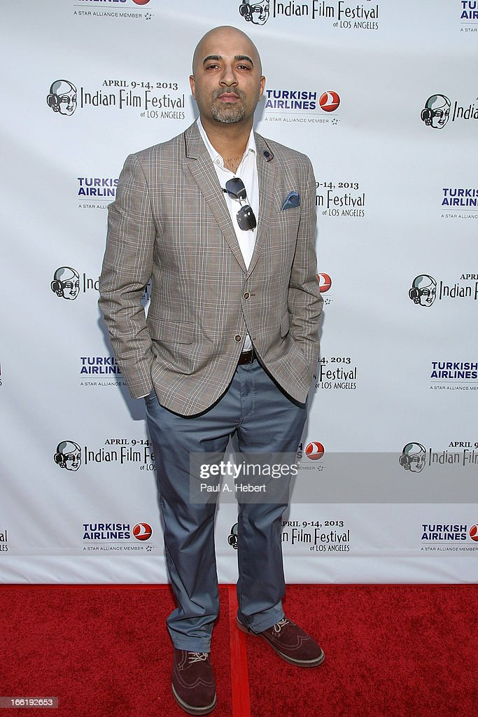 Sammy Chand attends the Indian Film Festival Of Los Angeles (IFFLA) Opening Night Gala For 'Gangs Of Wasseypur' on April 9, 2013 in Hollywood, California.