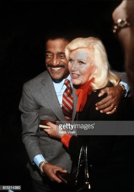 Sammy Davis Jr and Ginger Rogers posing for a photo on September 241980 in New York New York