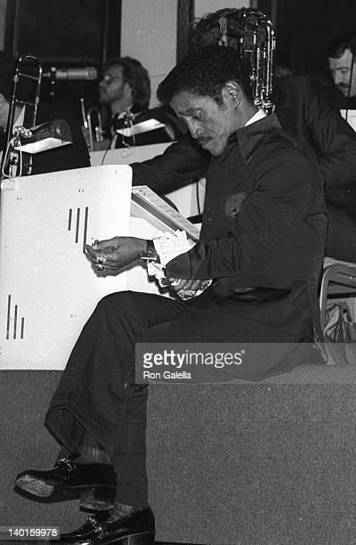 Sammy Davis Jr at the 1977 NAACP Image Awards Century Plaza Hotel Century City