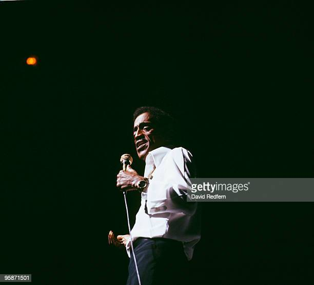 Sammy Davis Jr performs on stage at the Palladium in London England in October 1976