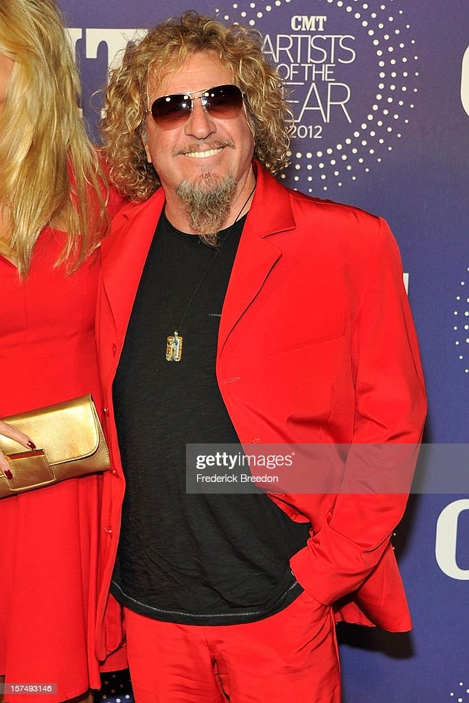 Sammy Hagar arrives at the 2012 CMT Artists Of The Year at The Factory At Franklin on December 3, 2012 in Franklin, Tennessee.