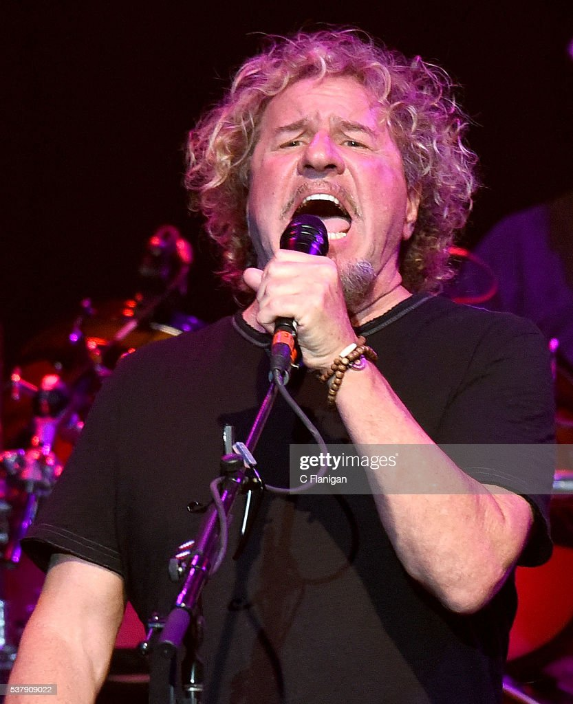 Sammy Hagar performs with Dead & Company during the 'Pay it Forward' concert at The Fillmore on May 23, 2016 in San Francisco, California.