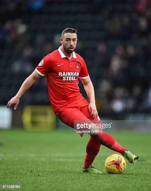 Sammy Moore of Leyton Orient in action during the Sky Bet League Two match between Notts County and Leyton Orient at Meadow Lane on February 20 2016...