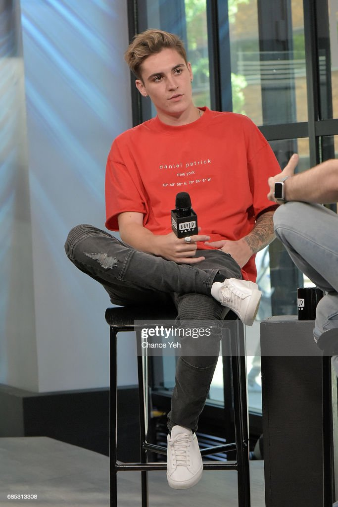 Sammy Wilk attends Build series to discuss his new clothing line Wilk at Build Studio on May 19, 2017 in New York City.