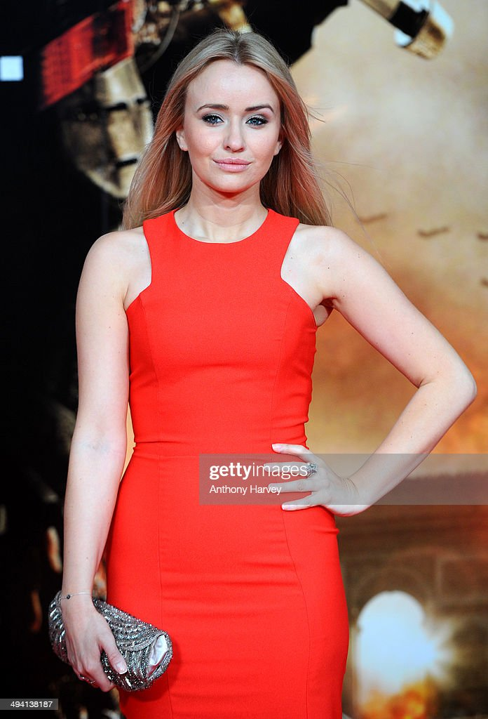 <a gi-track='captionPersonalityLinkClicked' href=/galleries/search?phrase=Sammy+Winward&family=editorial&specificpeople=627029 ng-click='$event.stopPropagation()'>Sammy Winward</a> attends the premiere of 'Edge Of Tomorrow' on May 28, 2014 in London, United Kingdom.