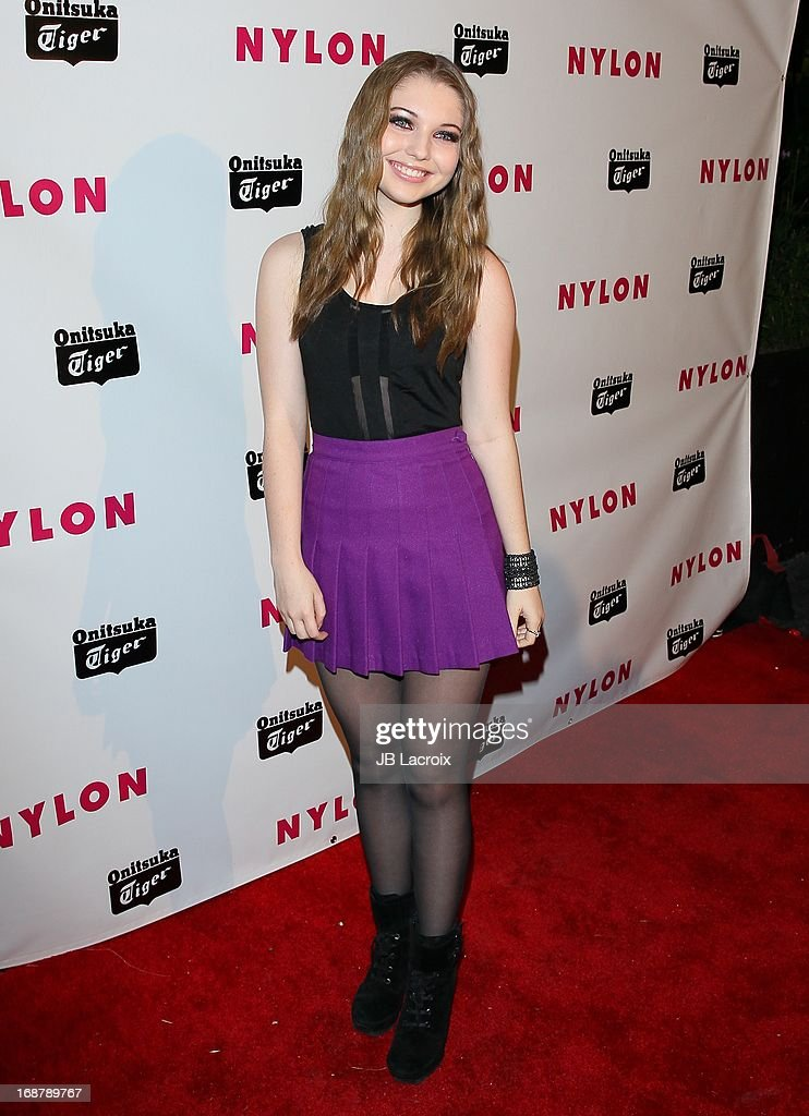 Samni Hanratty attends the NYLON Magazine Annual May Young Hollywood Issue Party at The Roosevelt Hotel on May 14, 2013 in Hollywood, California.