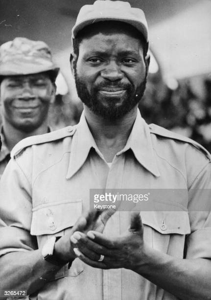 Samora Moises Machel before his departure from Tanzania for Mozambique where he led Frelimo the Mozambican Liberation Front against the Portuguese...
