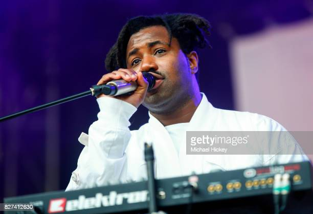 Sampha performs at Grant Park on August 6 2017 in Chicago Illinois