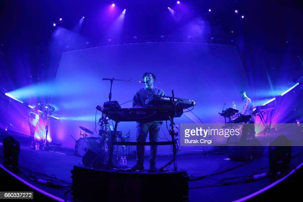 Sampha performs at Roundhouse on March 29 2017 in London United Kingdom