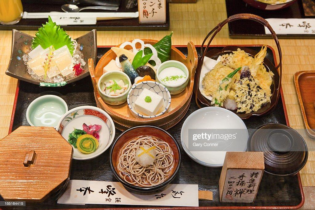 Sample meal in Restaurant : Stock Photo