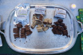 Samples of brownies with marijuana await participants on December 11 2010 in the vending area of the 7th annual Emerauld Cup in Area 101 a new age...
