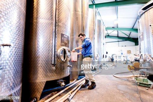 Sampling fermentation tanks