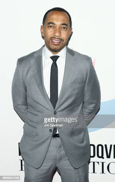 Sampson Davis attends the 2017 Samsung Charity Gala at Skylight Clarkson Sq on November 2 2017 in New York City