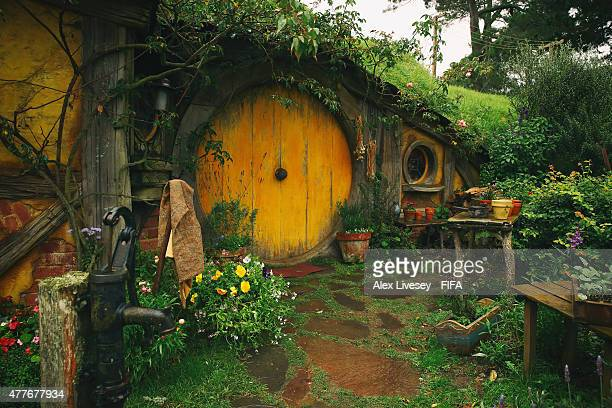 Sam's house is seen at the Hobbiton Movie Set where Lord of the Rings and The Hobbit trilogies were filmed during the FIFA U20 World Cup on June 19...