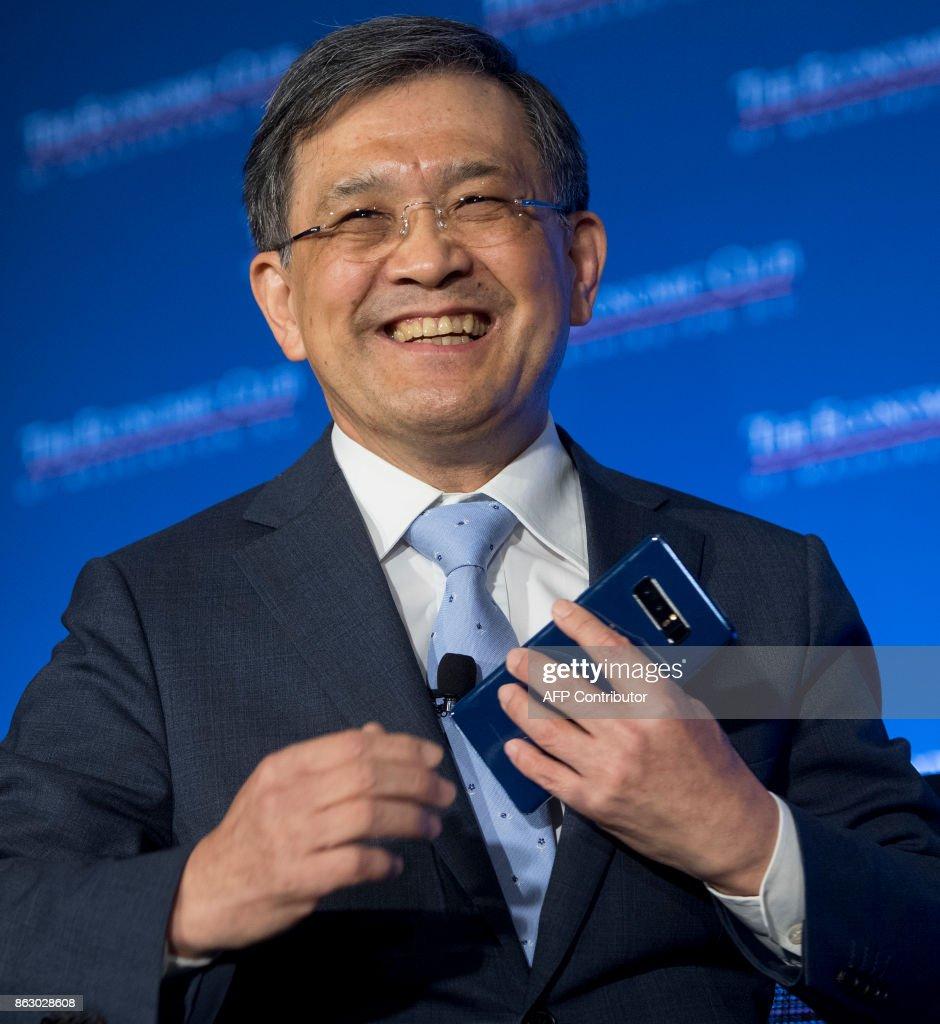 Samsung CEO Oh-Hyun Kwon Speaks At Economic Club Of Washington, DC