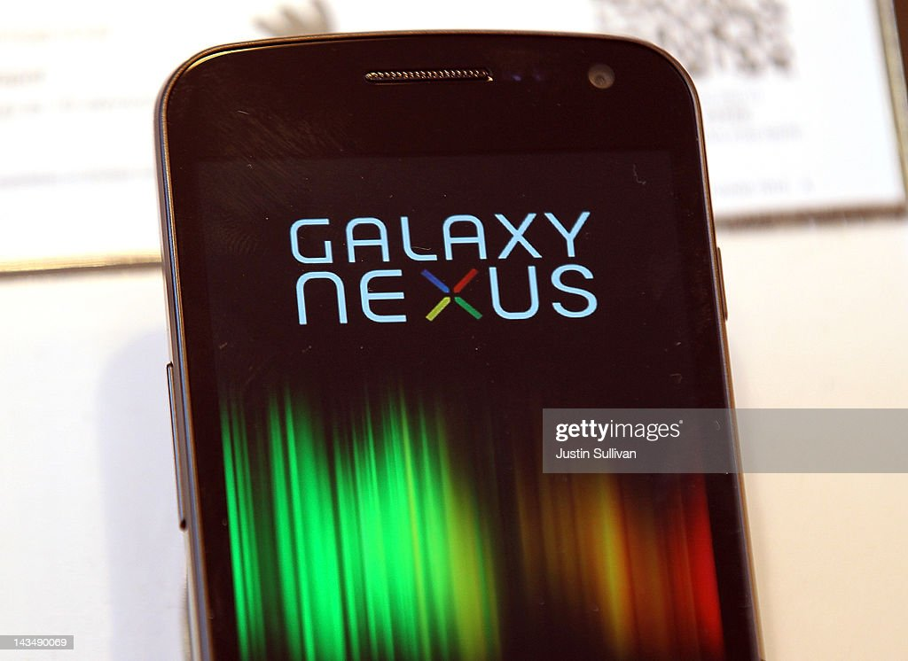 A Samsung Galaxy Nexus phone is seen on display at a Sprint store on April 27, 2012 in San Francisco, California. Samsung Electronics reported a record $5.15 billion quarterly profit and estimates that their Galaxy smartphones, will continue to be a hot seller and boost earnings in the current quarter.