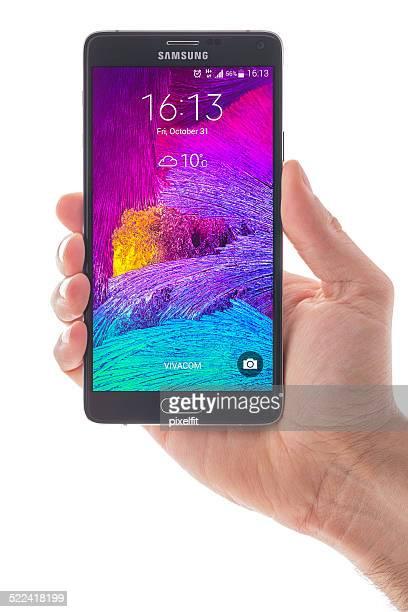Samsung Galaxy 注 4 スマートフォン