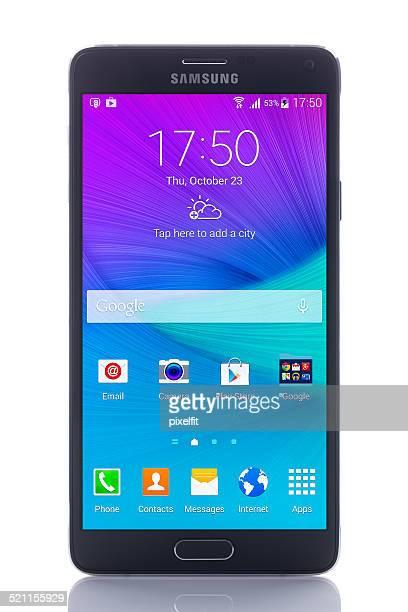 Samsung Galaxy Note 4 con Clipping path