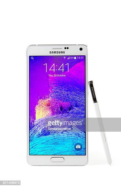 Samsung Galaxy Note 4 com Traçado de Recorte