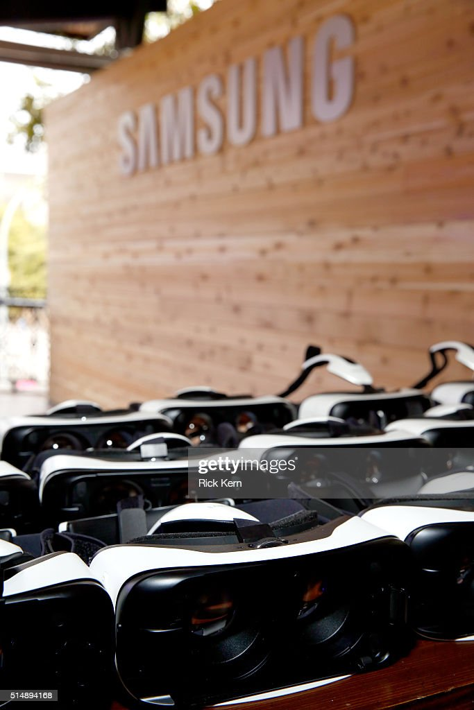 Samsung Gear VR at The Samsung Studio at SXSW 2016 on March 11, 2016 in Austin, Texas.