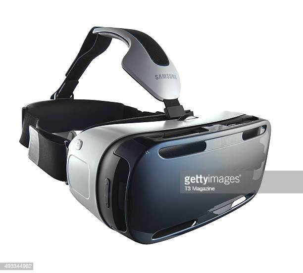 A Samsung Gear VR virtual reality headset taken on February 18 2015