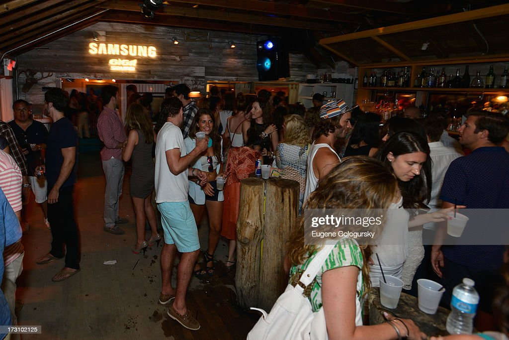Samsung Launches the new Giga speaker system at during the Samsung Summer Dj series at The Surf Lodgeon July 6, 2013 in Montauk.