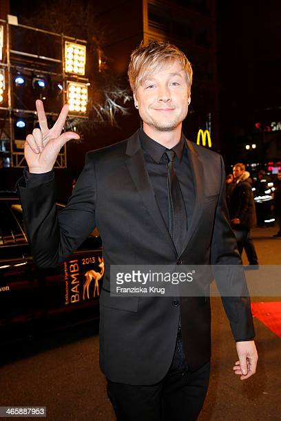 Samu Haber attends the Bambi Awards 2013 at Stage Theater on November 14 2013 in Berlin Germany