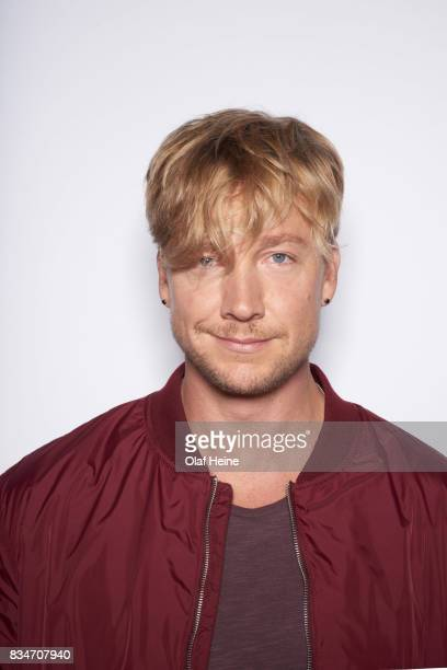 Samu Haber of Finnish rock band Sunrise Avenue is photographed on July 12 2016 in Berlin Germany