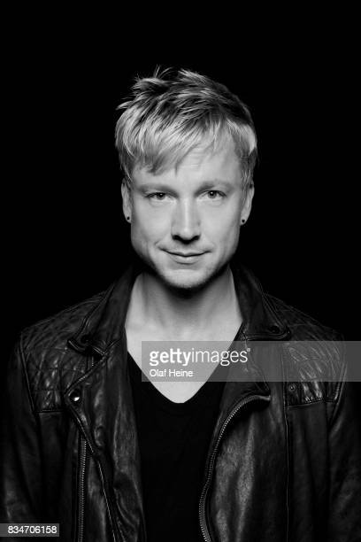 Samu Haber of Finnish rock band Sunrise Avenue is photographed on April 8 2013 in Berlin Germany