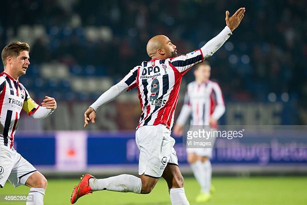 Samuel Armenteros of Willem II during the Dutch Eredivisie match between Willem II Tilburg and Excelsior Rotterdam at Koning Willem II stadium on...