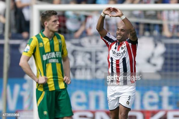 Samuel Armenteros of Willem II during the Dutch Eredivisie match between Willem II Tilburg and ADO Den Haag at Koning Willem II stadium on May 10...
