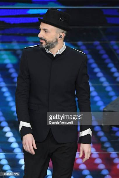 Samuel attends the third night of the 67th Sanremo Festival 2017 at Teatro Ariston on February 9 2017 in Sanremo Italy