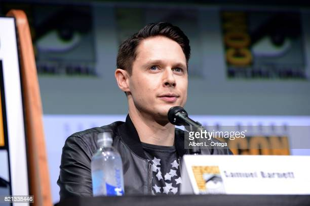 Samuel Barnett at Dirk Gently's Holistic Detective Agency BBC America Official Panel during ComicCon International 2017 at San Diego Convention...